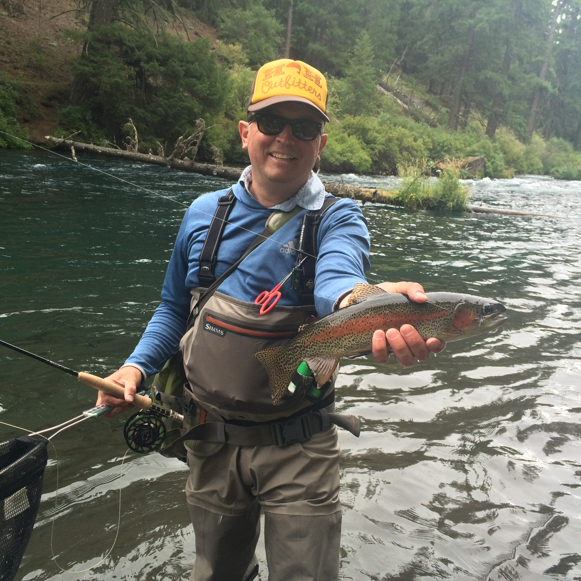 Metolius river report 7 31 15 the fly fishers place for Central oregon fishing report