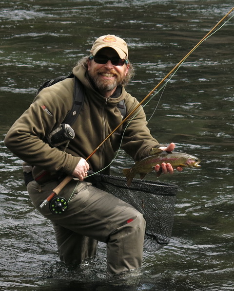 Meet the guides the fly fishers place for Central oregon fishing report